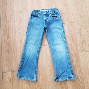 Young Boys Levi Strauss Denim Jeans
